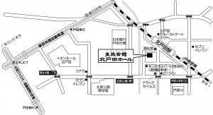 北戸田地図